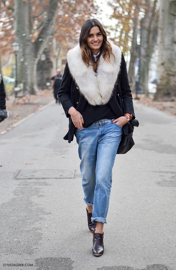 street style Zagreb zimska moda, kaputi bunde, Stylezagreb.com, Josipa Dragun, studentica eksperimentalne biologije