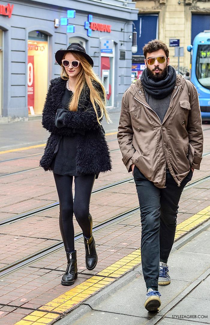 Angela Bacic, Toni Tkalec, koje cool sunčane naočale, zagreb street style moda, zgodan par na špici