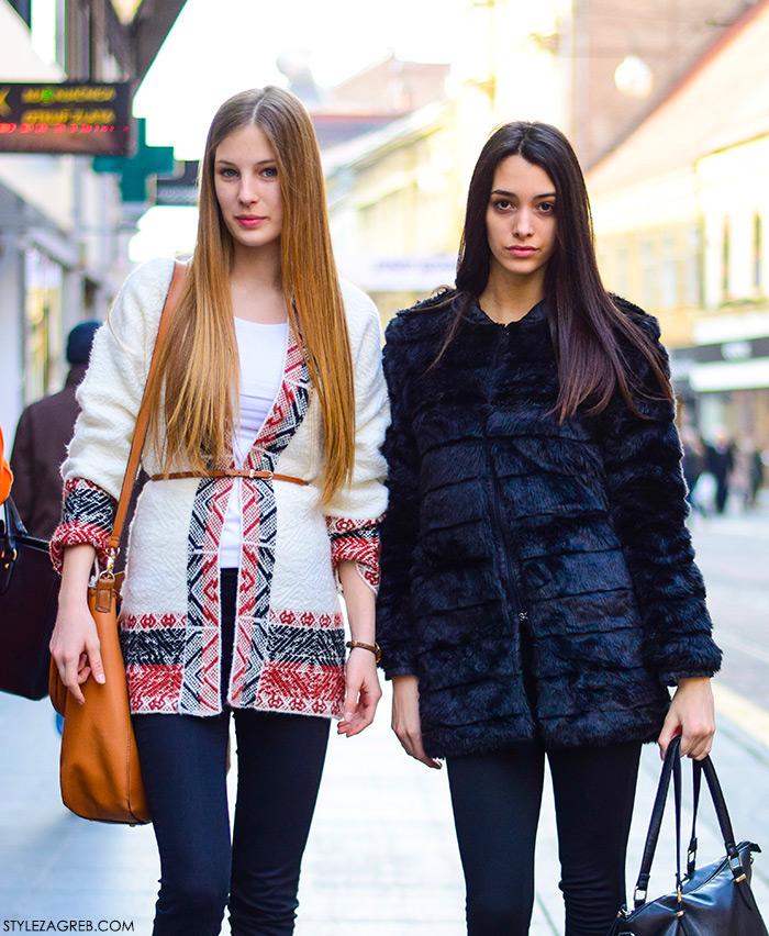 Zagreb street style, proljetna moda, bomber jakna, stylezagreb, Marina Banković i Sara Rupenović, srednjoškolke
