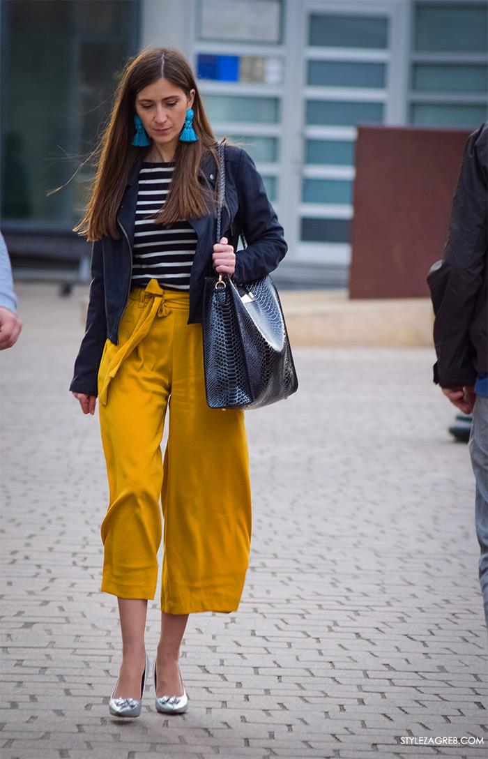 šos hlače kako kombinirati suknja-hlače, Zagreb street style Instagram žena moda fashion hr zagrebačka špica modne kombinacije trend portal zena forum hr