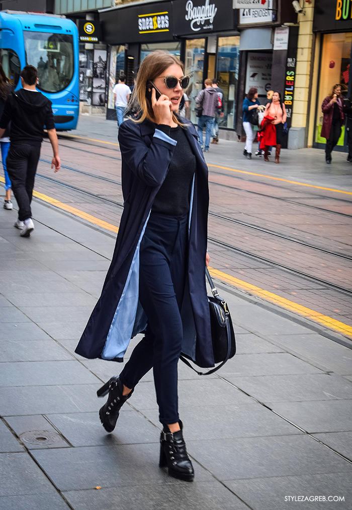LEPRŠAVI BALONERI - kako cure kombiniraju crni baloner, Zagreb street style proljetna moda fashion žena hr zagrebačka špica modne kombinacije trend portal zena forum hr by StyleZagreb.com