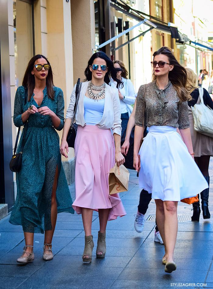 Andrea Ascic instagram, Zagrebačka špica, proljetni street style trendovi i modne kombinacije, Zagreb street style, stylish cure na špici