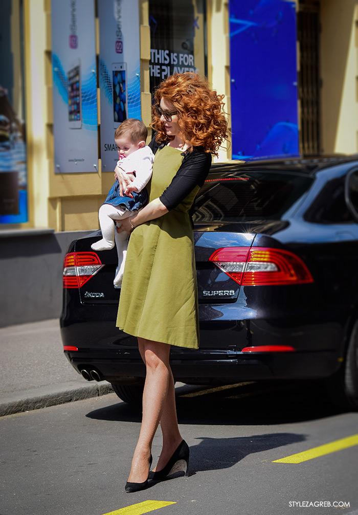 Ana Šarić Karamarko, kćerka Katarina Karamarko, ulična moda Zagreb street style gloria časopis za žene, žena moda fashion hr