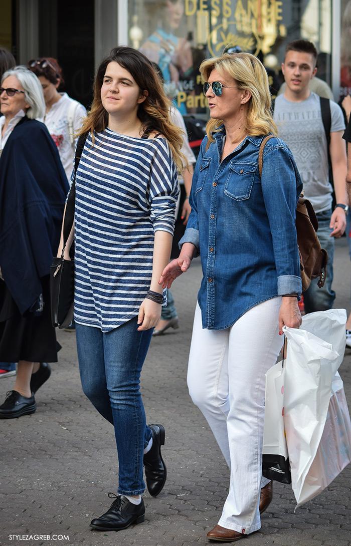 Sanja Doležal i kćerka Lea, Street style Zagreb Hrvatska, ulična moda Zagreb, prosvjed Hrvatska može bolje 1.6.2016.