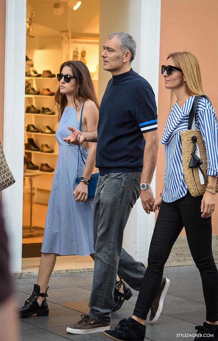 Liza, Emil i Maja Tedeschi, Street style Zagreb Hrvatska, ulična moda Zagreb, prosvjed Hrvatska može bolje 1.6.2016.