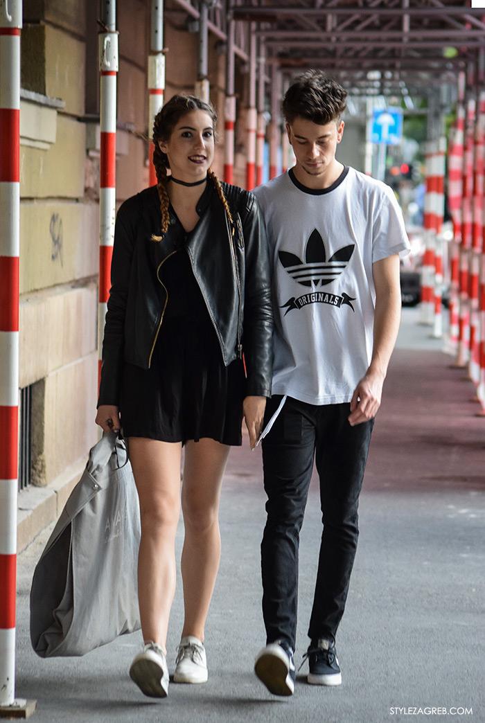 Street style Zagreb Hrvatska, ulična moda Zagreb,