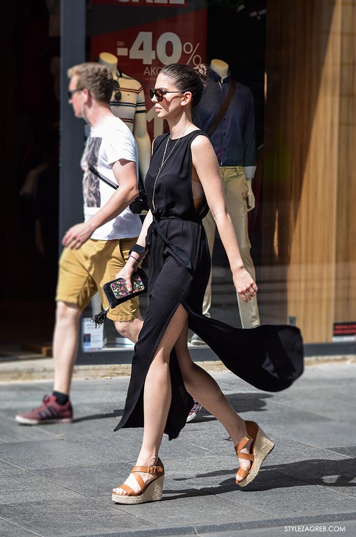 Street style Zagreb ljeto 2016, kako nositi haljine s prorezima