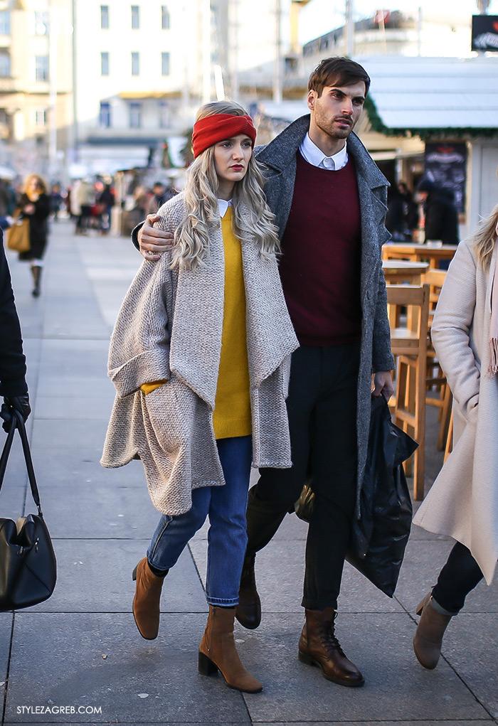 Street style raspoloženje: Sunčano i promrzlo, street style women's winter fashion Zagreb Croatia