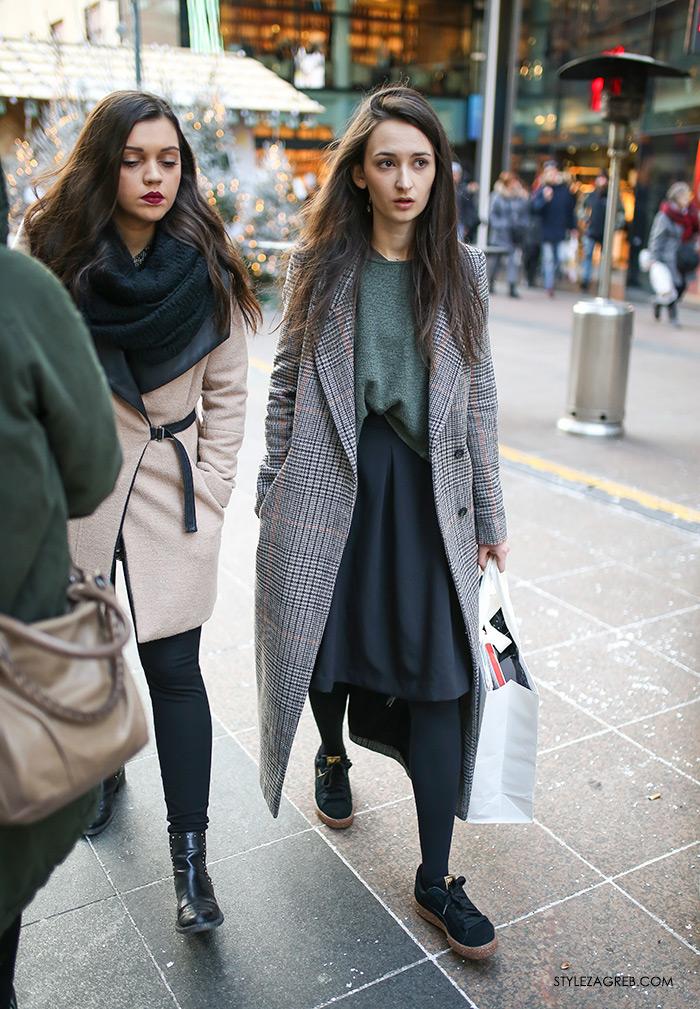 Novogodišnji Zagreb i moćno žensko društvo - Style Zagreb, womens street style winter fashion girl squad