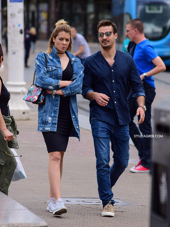 style zagreb špica zagreb danas street style slika duža poderana traper jakna gdje kupiti