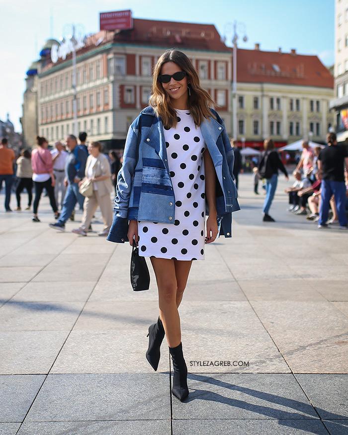 špica moda Zagreb jesen stylezagreb Ivana Vukušić Klisab traper dekonstruirana jakna