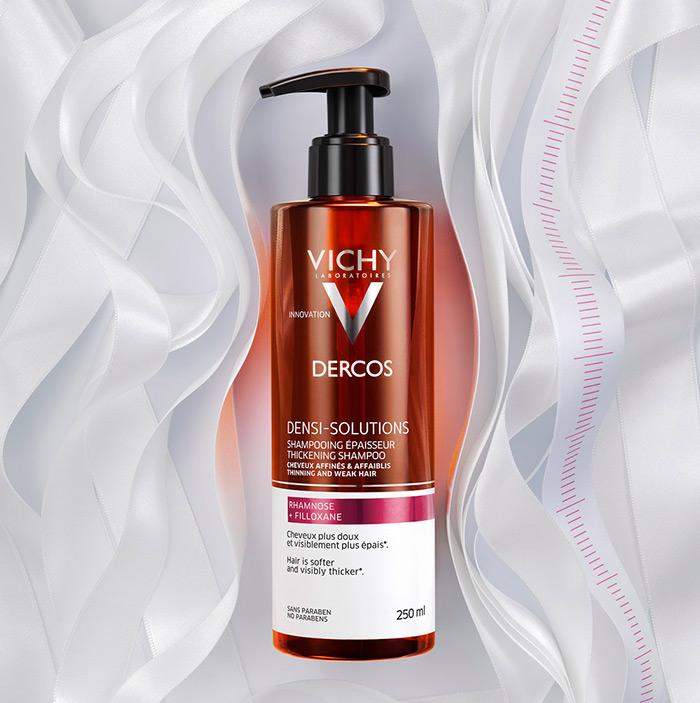 Vichy Dercos Sensi Solutions, šampon za tanku i slabu kosu