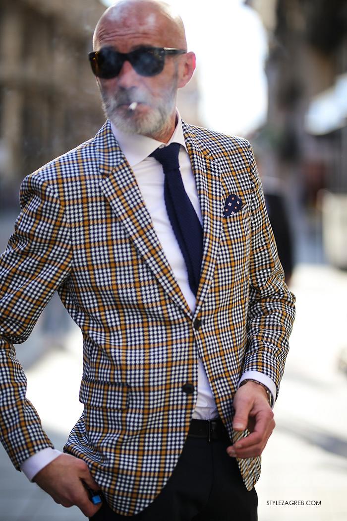 Alen Kolbas godine Instagram muški stil karirani sako Zara Style Zagreb špica street style