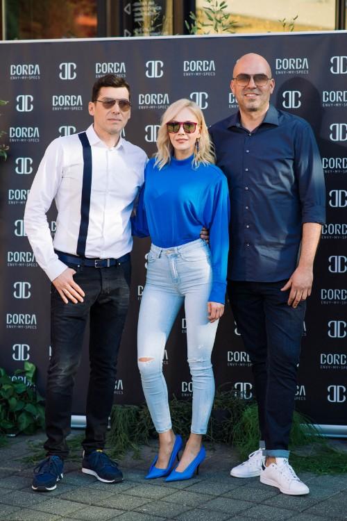 Dizajner Boris Banović, Jelena Rozga i Andrej Munivrana