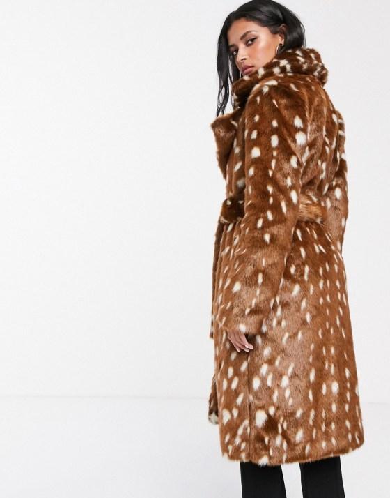 zenska moda 2019, zg street style slike fashion, bambi bunda faux fur coat teddy bear coat asos