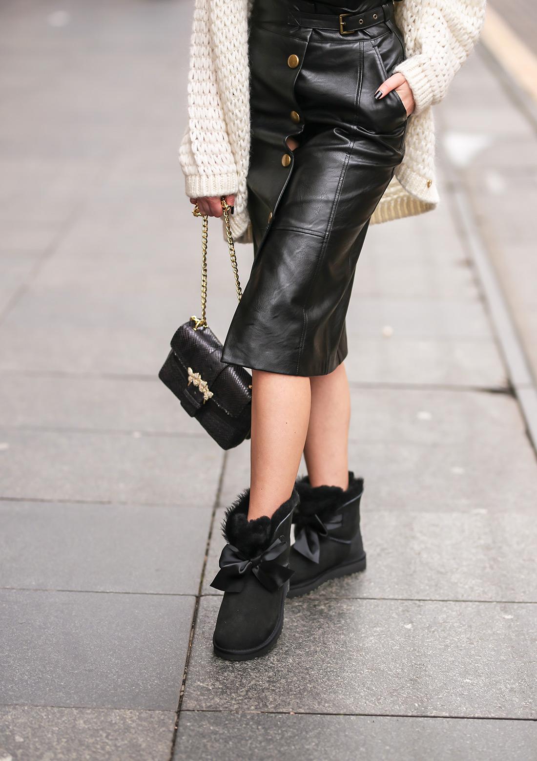 ugg čizme novi modeli najudobnija obuća gdje kupiti zagreb street style ženska moda zima 2019/20 Karla cipele Twinset odjeća Anja Sossich