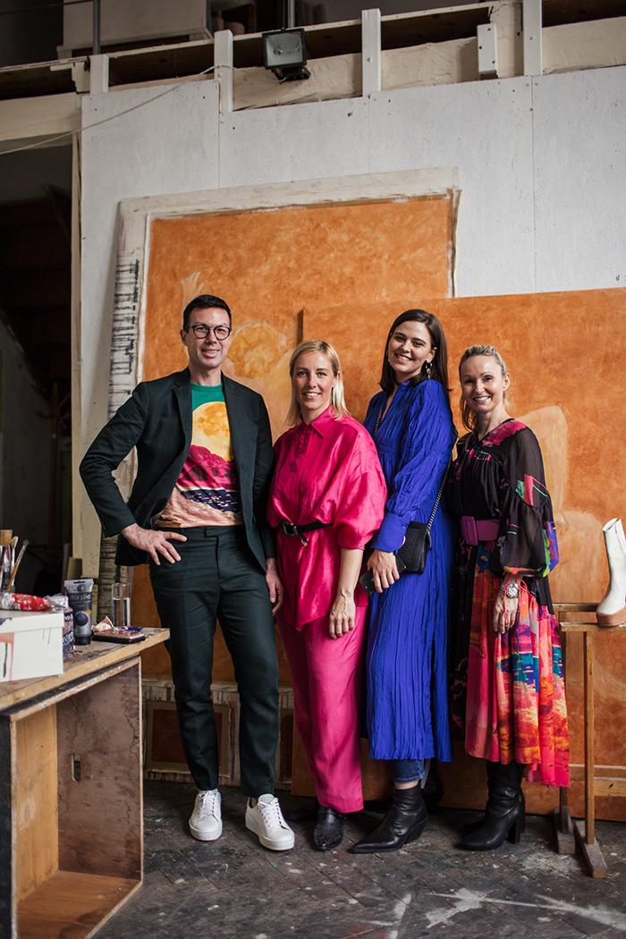 zagreb moda hm studio 2020 H&M tim: Danilo Drobnjak, Lana Radnić, Ljubica Vidačić i Ivona-Rauch