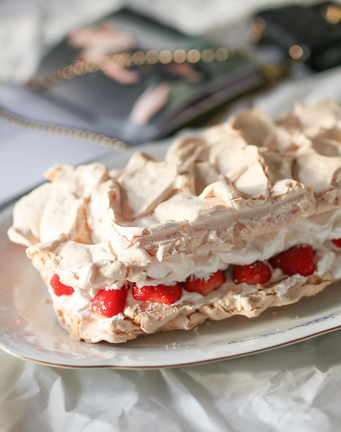 jako jednostavan recept torta pavlova kako napraviti