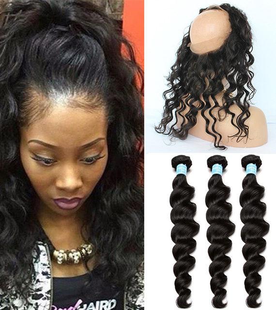 Human Hair Weft With Closure Stylez Beauty Supply
