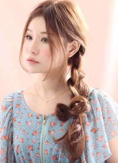 English Braided Hairstyle 2016