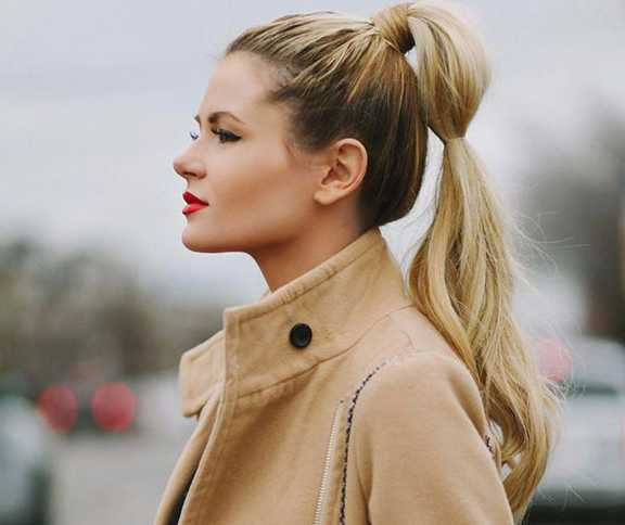 Twisted Ponytail Hairstyle for 2016