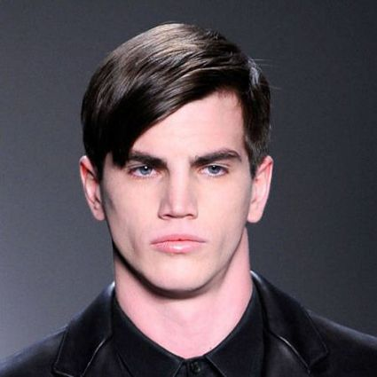 Boys sleek bangs hairstyles