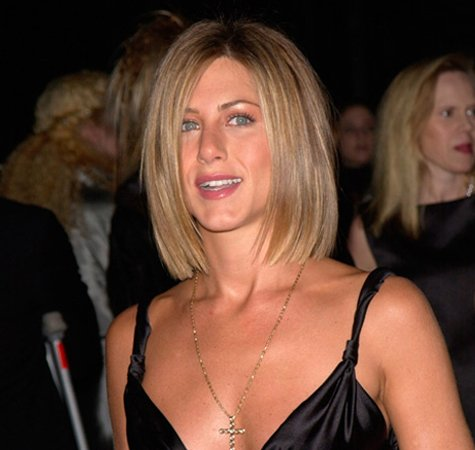 Jennifer Aniston chin-length Bob