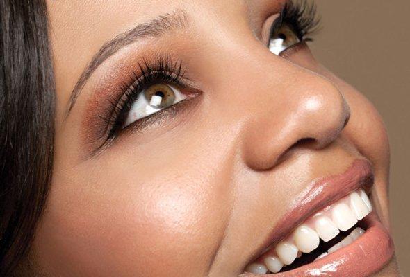 Luscious eyelashes