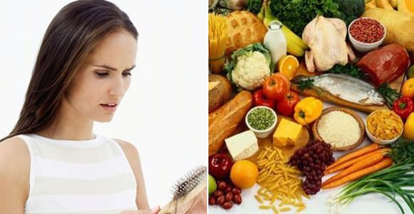 Nutritional diets to reverse hair.