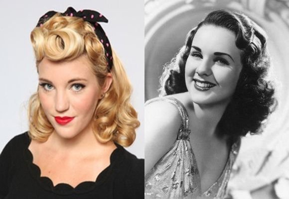 1940s Hairstyles For Women: Prime Looks