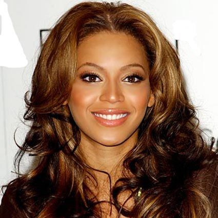 Black women Beyonce styled Beachy waves