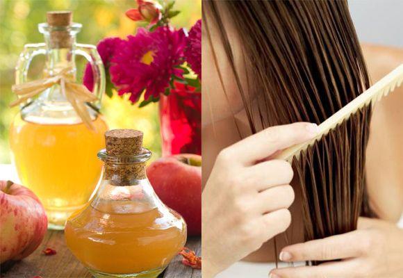 Cider Vinegar for hair care