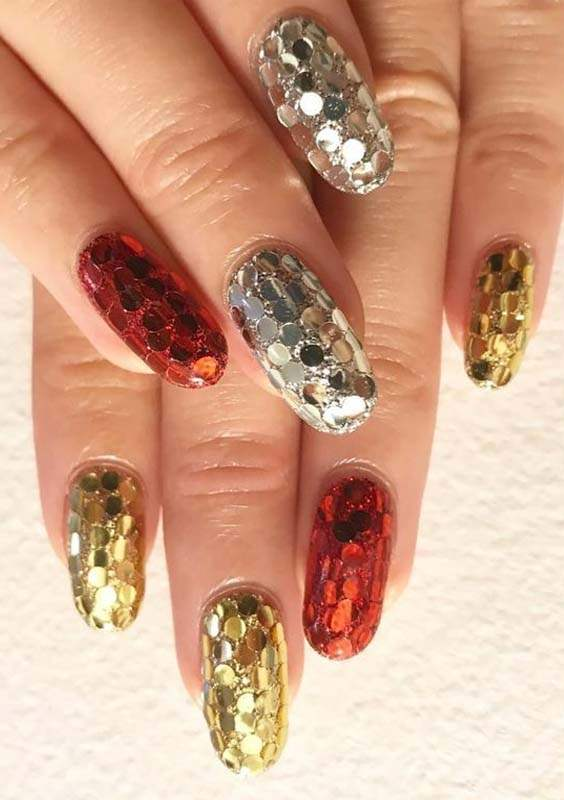 Disco Fever Nail Designs Arts