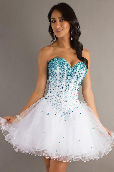 prom mermaid Short dress