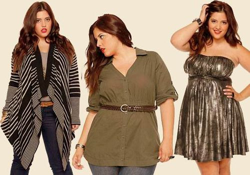 Accessories for plus size women