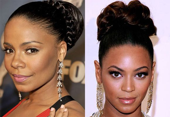 Fairytale black women updo hairstyles