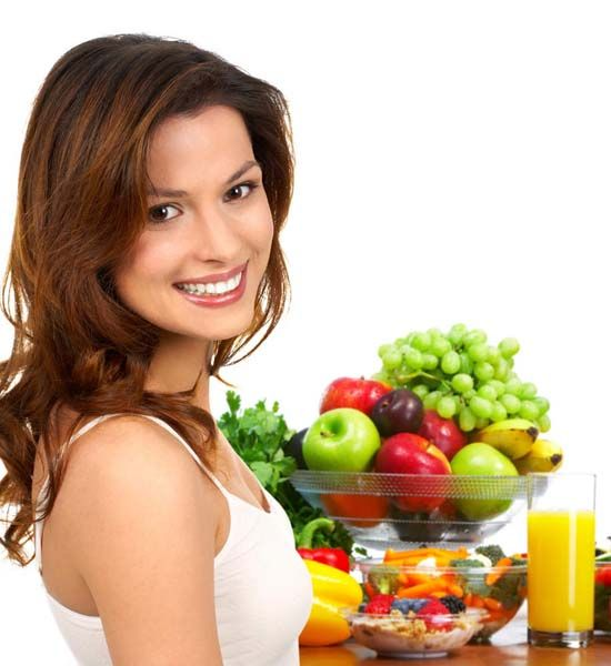 Healthy diet for gorgeous hair