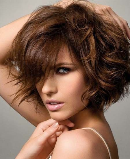 Light layered Short Curly Hairstyles