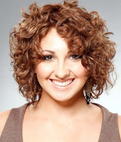 Retro yet sassy short curls