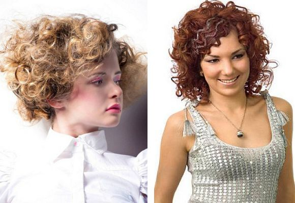 curls hairstyles for round faces