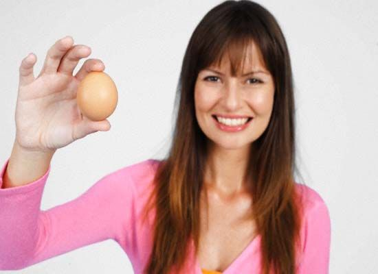 eggs for healthy gorgeous hair