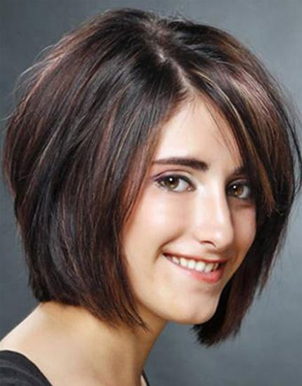medium Choppy Layered bob hairstyles.