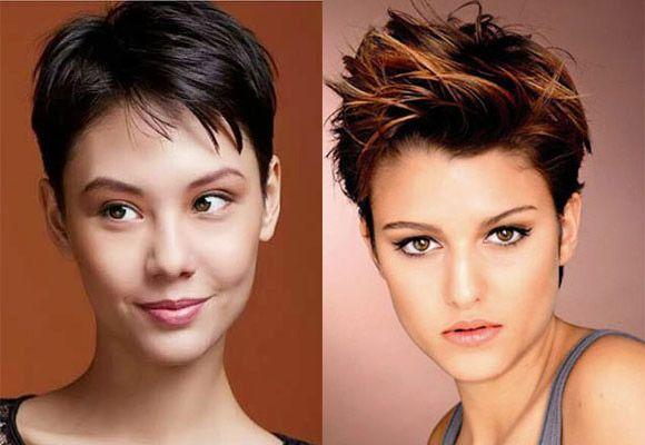 Edged and cropped pixie cut