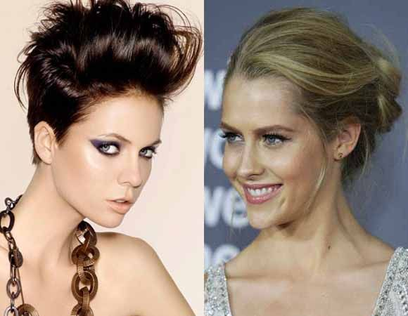 Updo Teased with twists