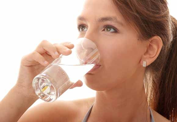intake of water for Women in Their 20's