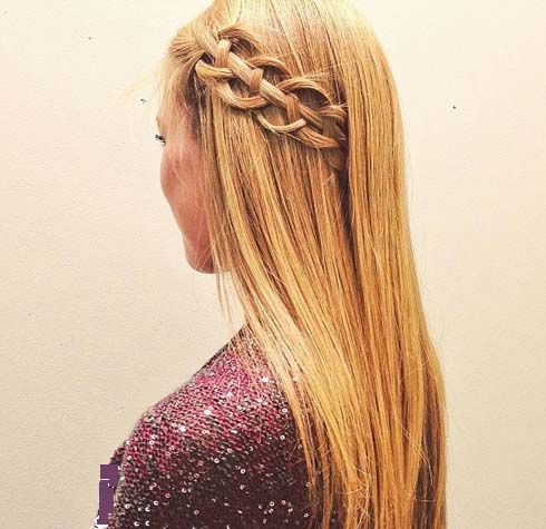 Loose Braided Hairstyles for Long Hairs 2015