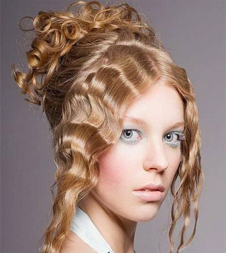 Up-do curly Hairstyles 2015