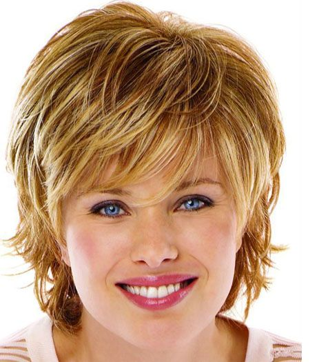 Short Shaggy wavy Hairstyle