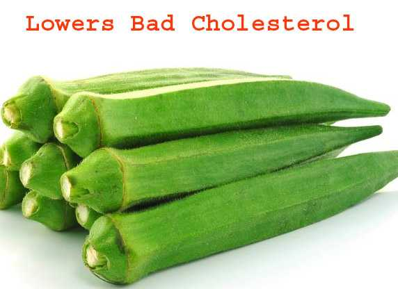 Lower Bad Cholesterol with Okra