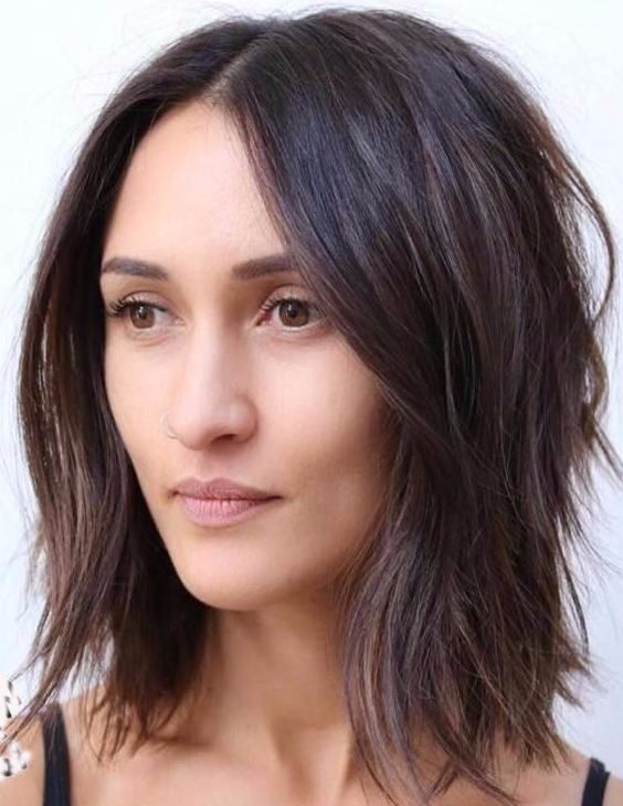 elegant medium length hairstyles
